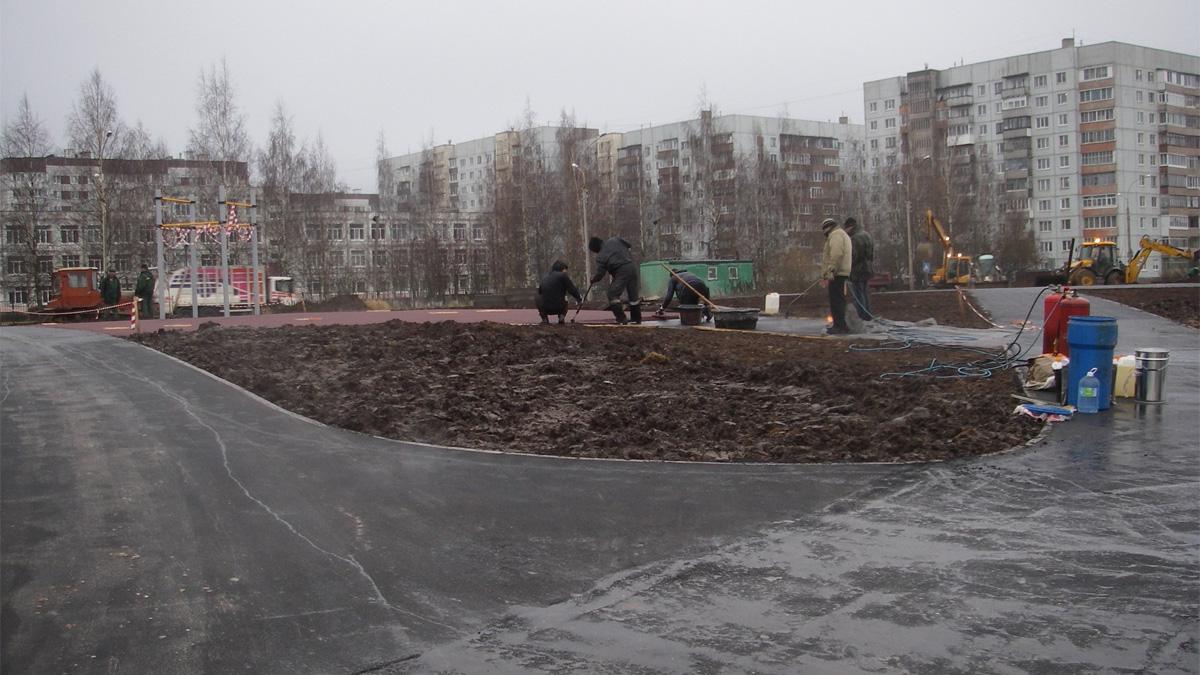Парк у Веряжи