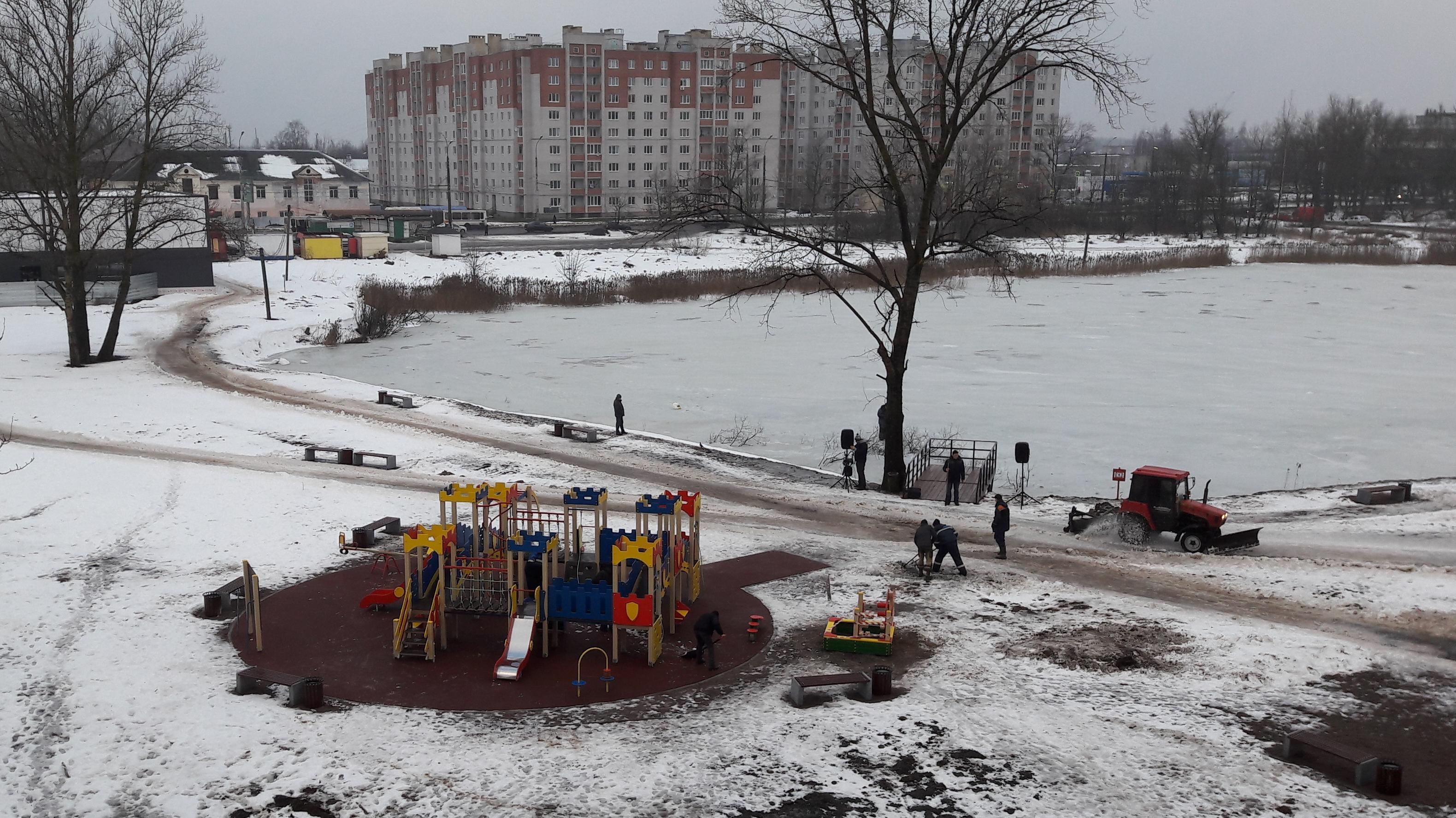 Уборка Лугового парка