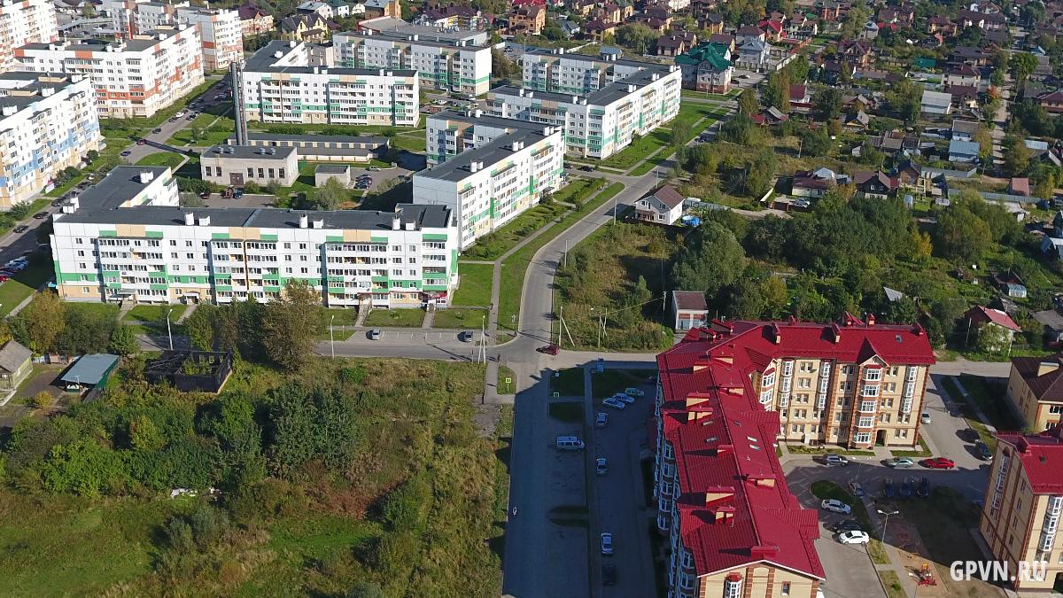 Перекрёсток Шелонской и Славянской улиц