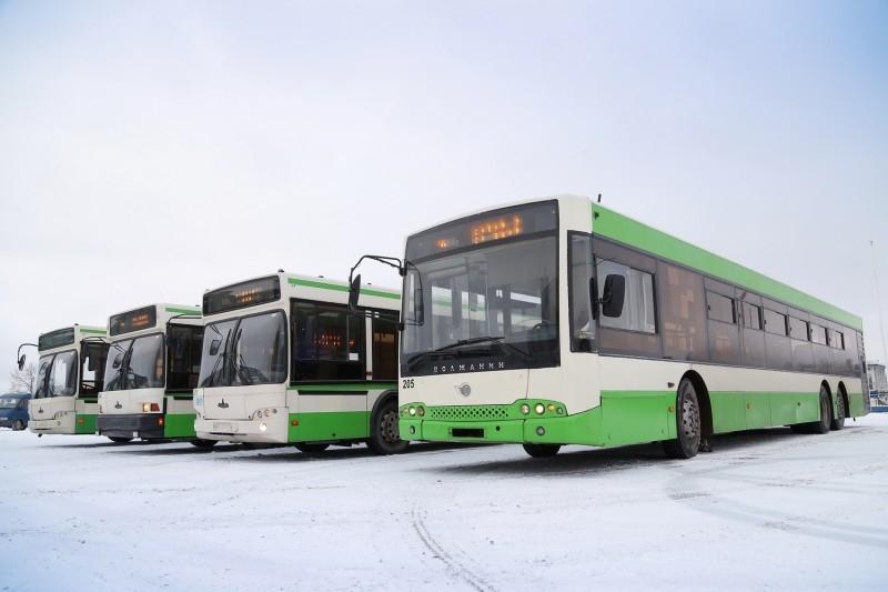 Автобусы из Москвы