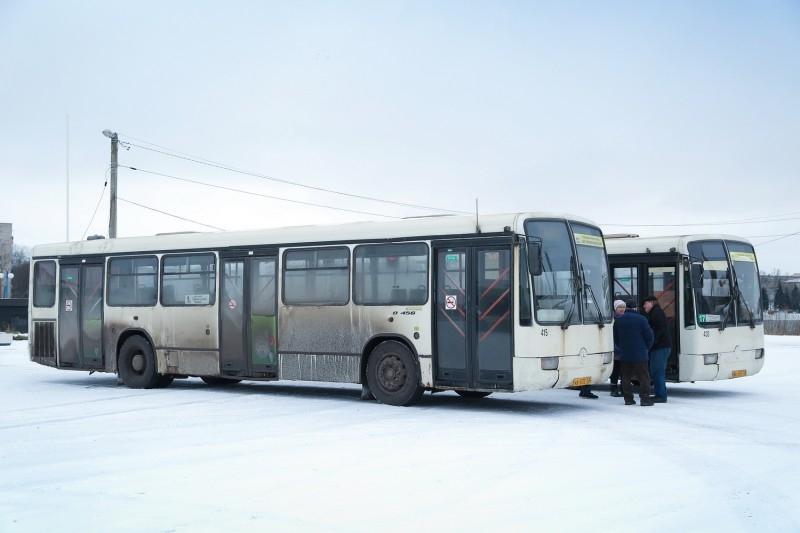 Автобусы «Мерседес»