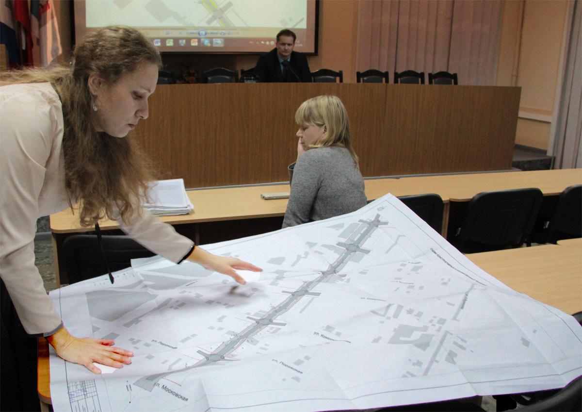 Реконструкция в Боровичах