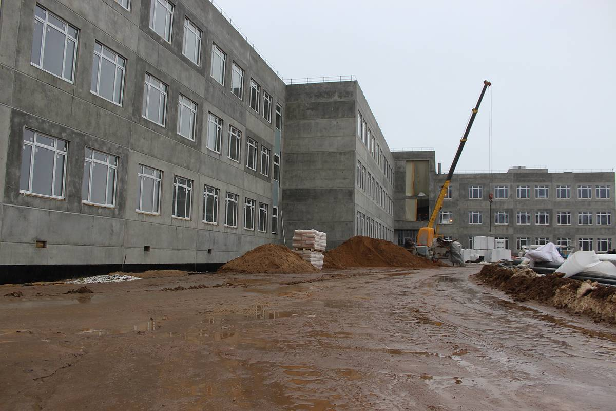 Строительство школы №37