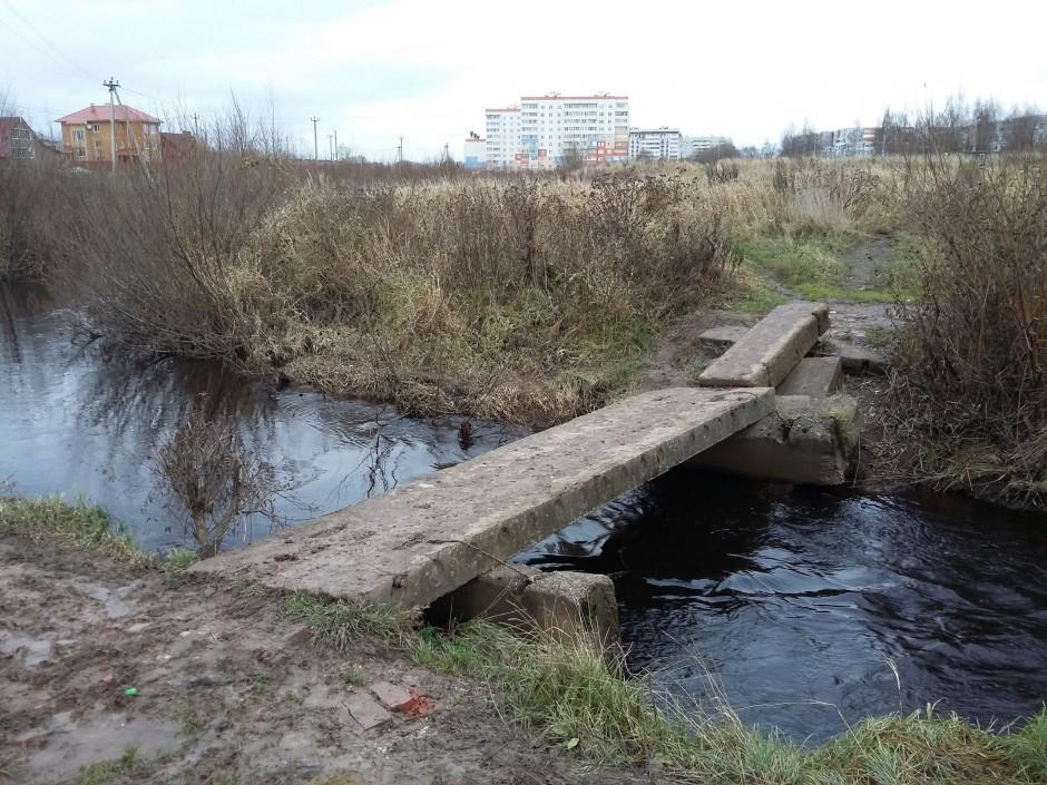 Мост через Веряжу