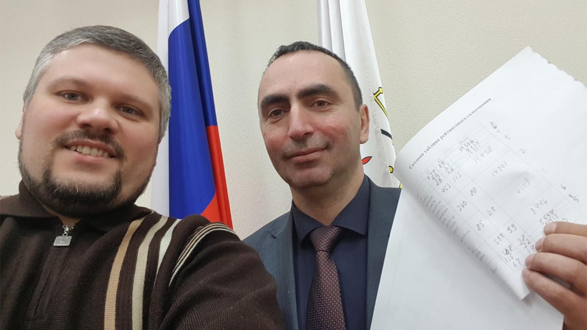 Алексей Лихацкий и Рустам Шовлаев