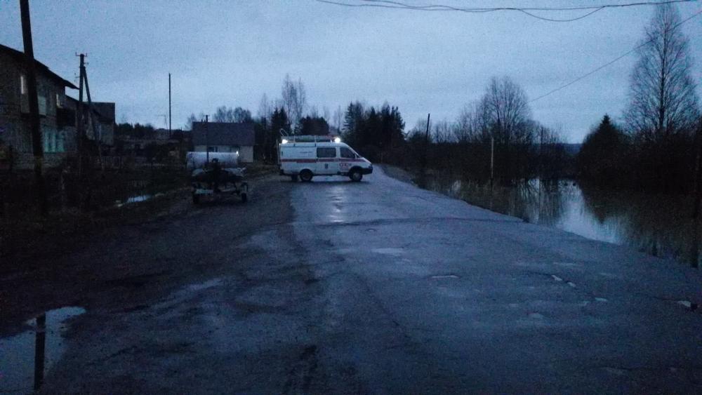 Подтопления в Новгородской области