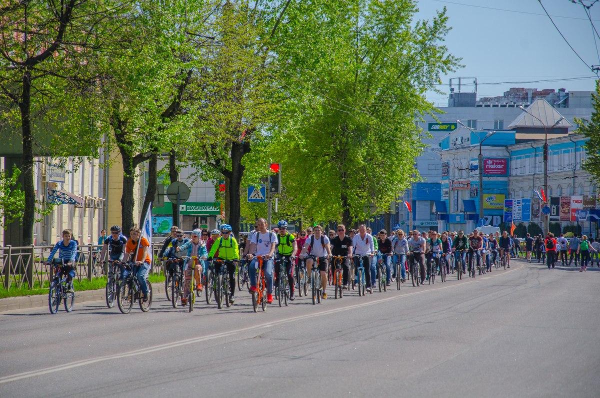 Велопробег в Великом Новгороде