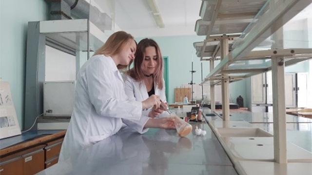 В лаборатории НовГУ