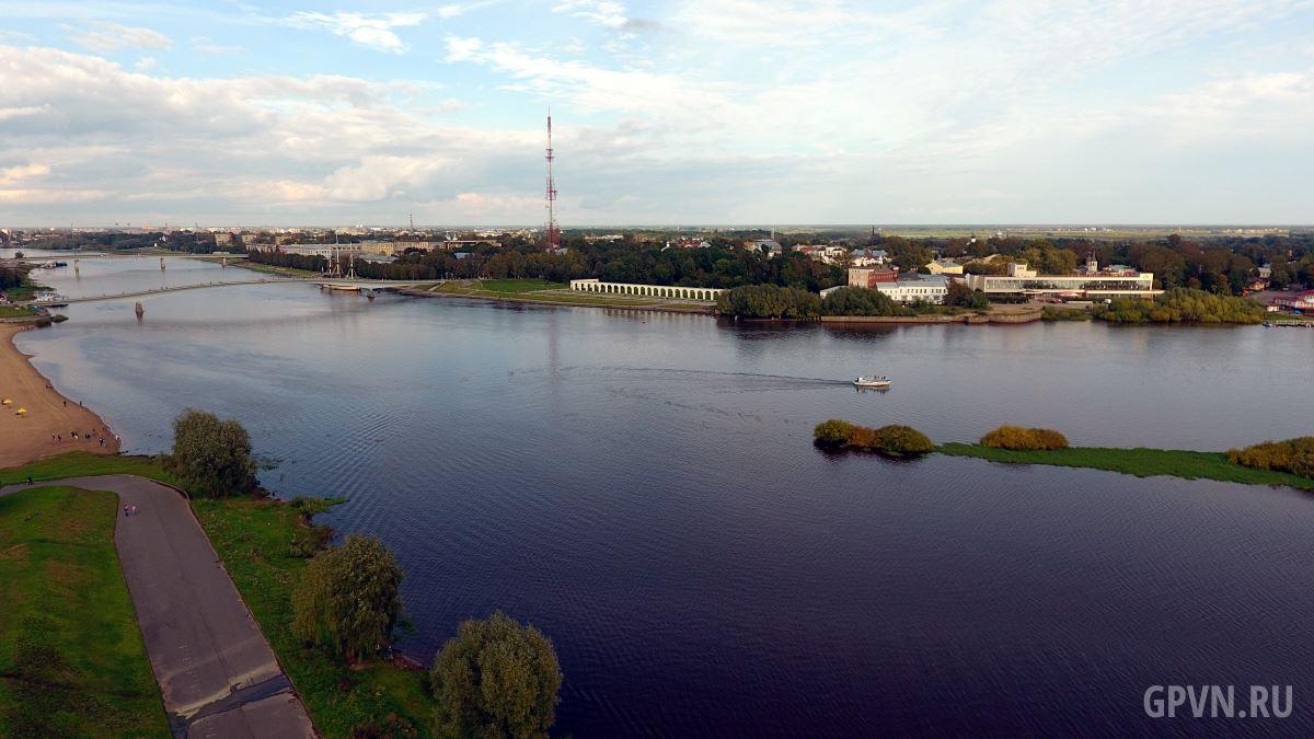 Акватория реки Волхов
