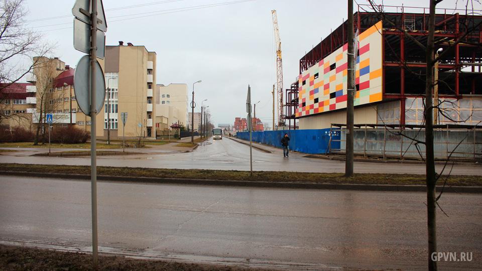 Перекрёсток улиц Ломоносова и Боткина