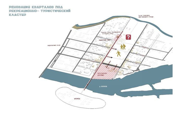 Рисунок 1. Расположение кластера на Торговой стороне