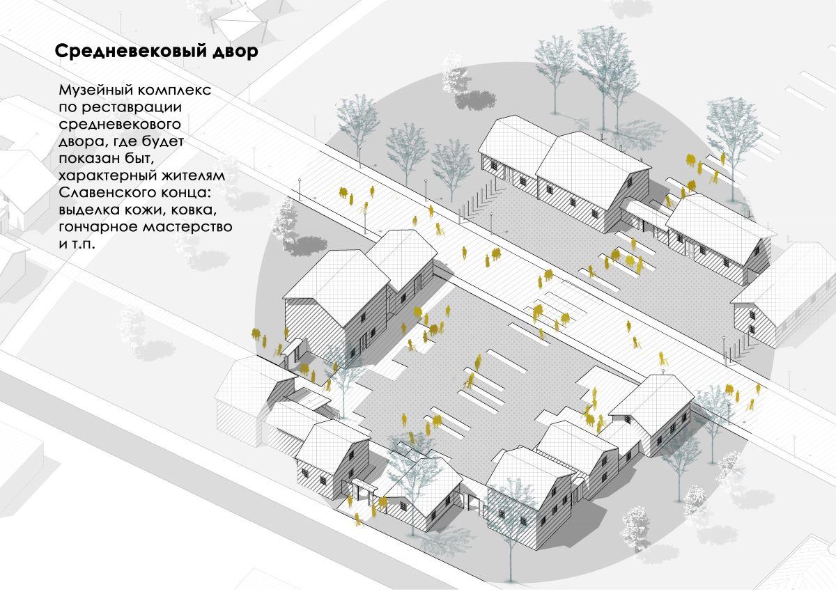 4 квартал - «Средневековый двор»