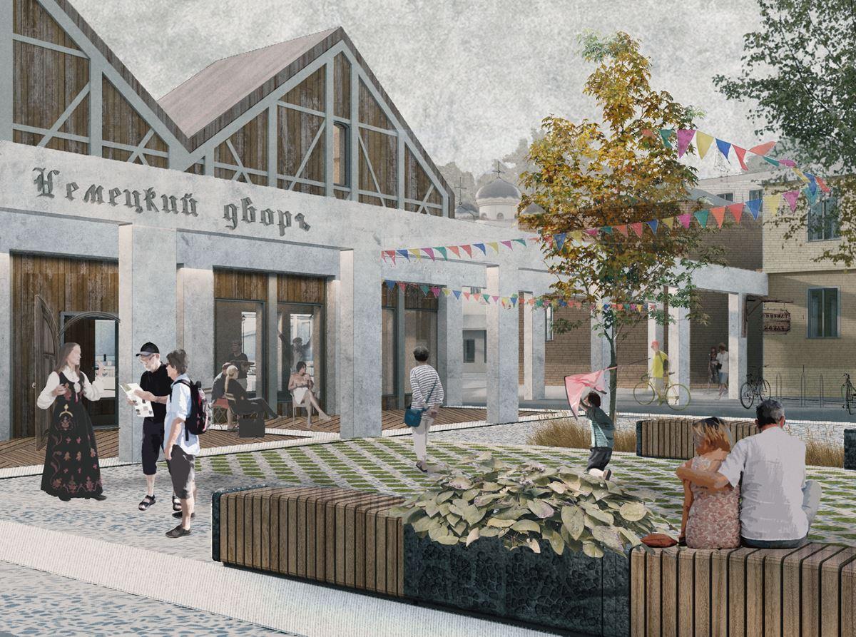 Реновация кварталов под туристско-рекреационный кластер