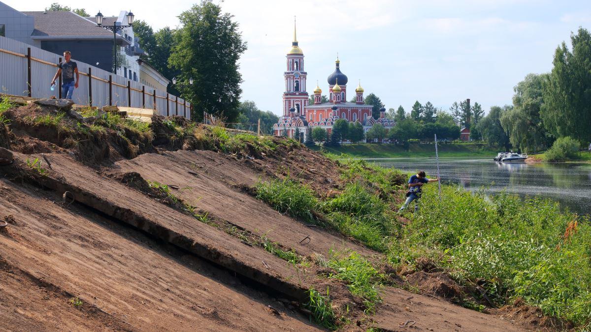 Раскопки в Старой Руссе