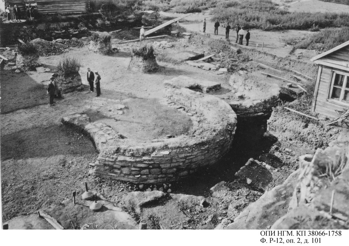 Раскопки 1940 года