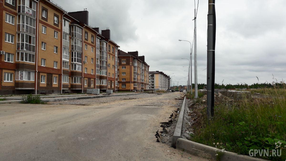 Строительство Луговой улицы