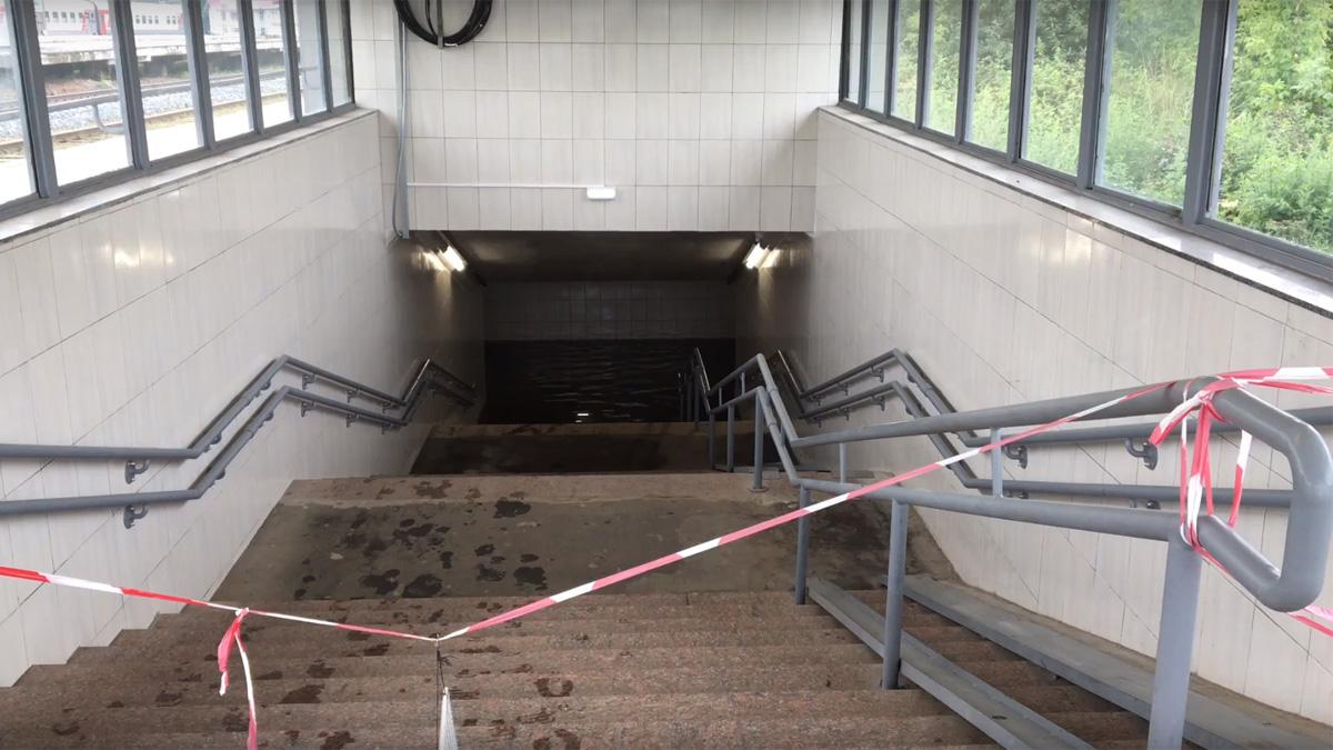 Подземный переход у вокзала