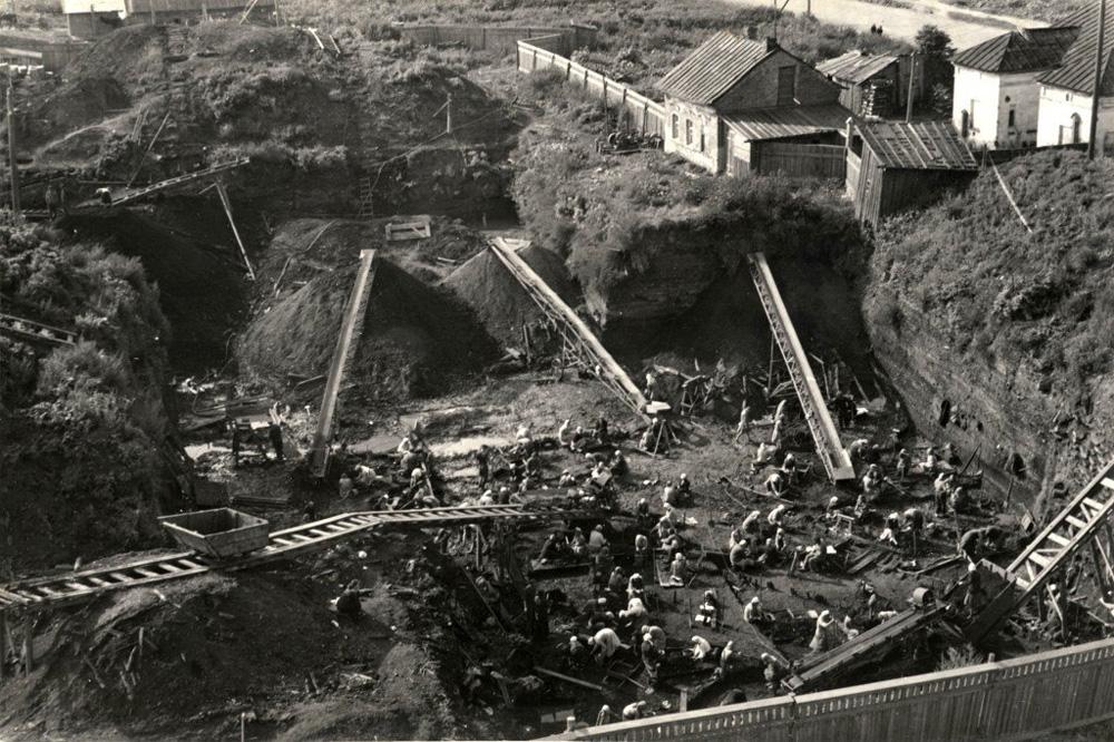 Неревский раскоп