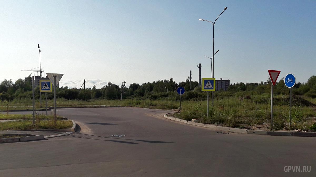 Выезд на Большую Московскую