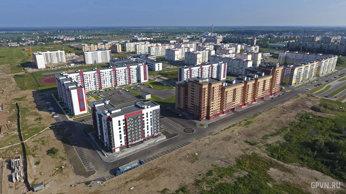 Будущий перекрёсток с улицей Ворошилова