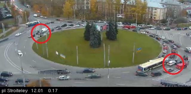 ДТП на площади Строителей