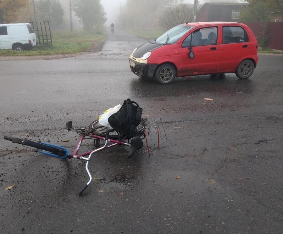 Маловишерский велосипедист