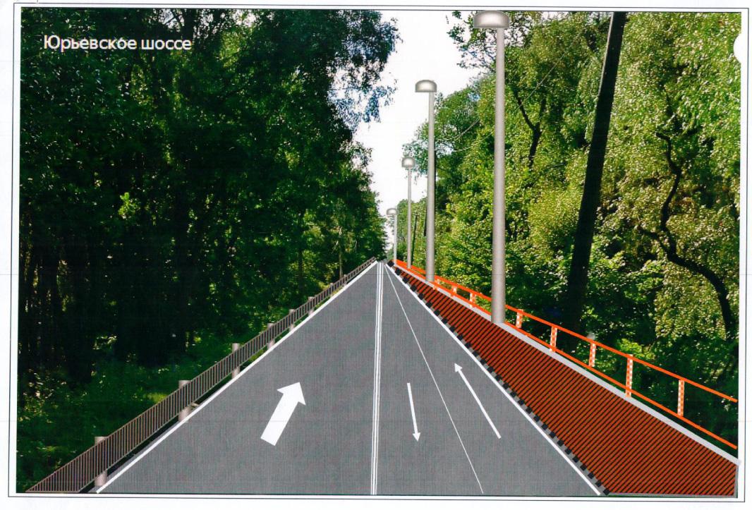 Дорога вдоль «Витославлиц»
