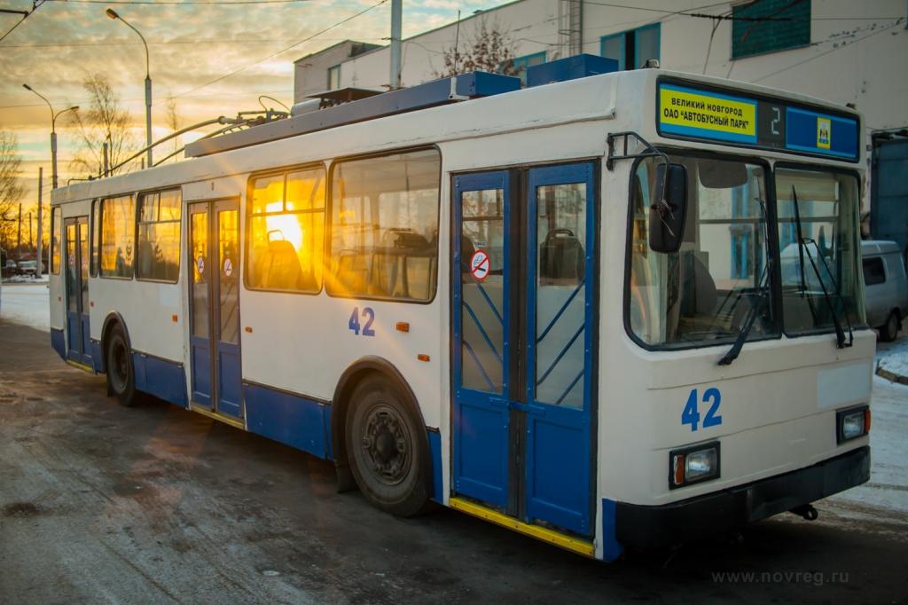 Троллейбусы из Санкт-Петербурга