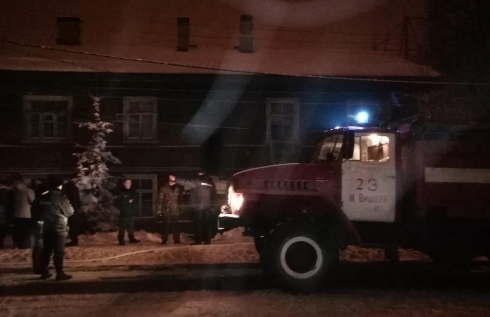 Пожар в Малой Вишере