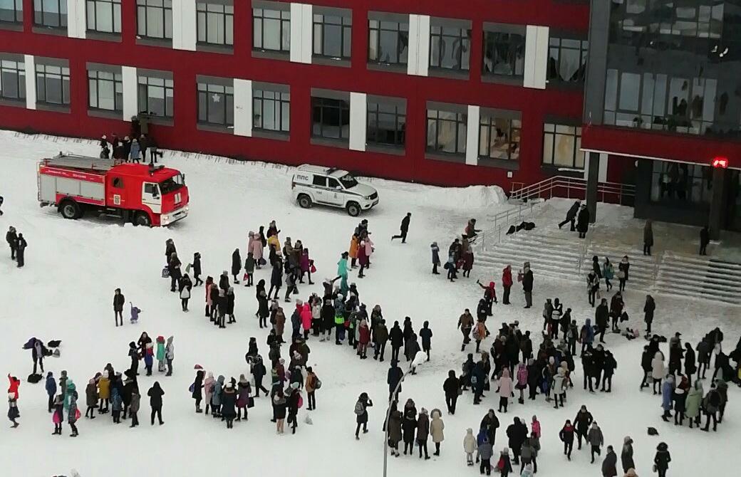 Эвакуация 36 школы