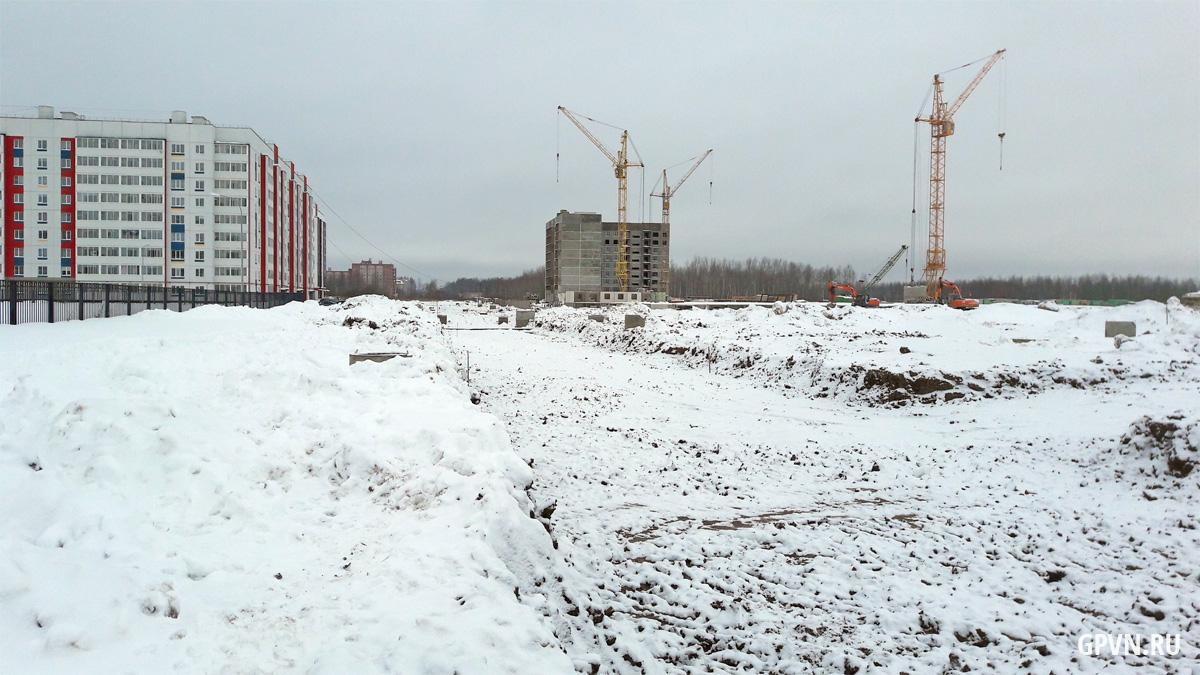 Строительство улицы Ворошилова