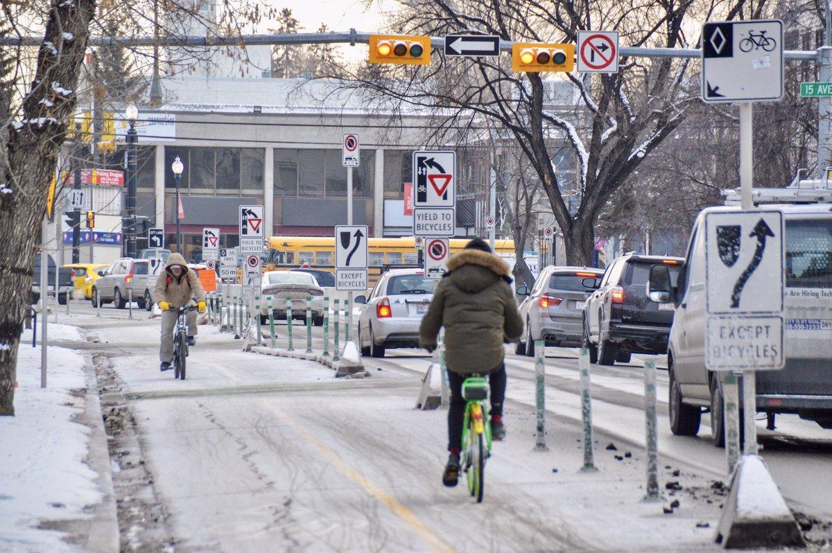 Велоинфраструктура Калгари