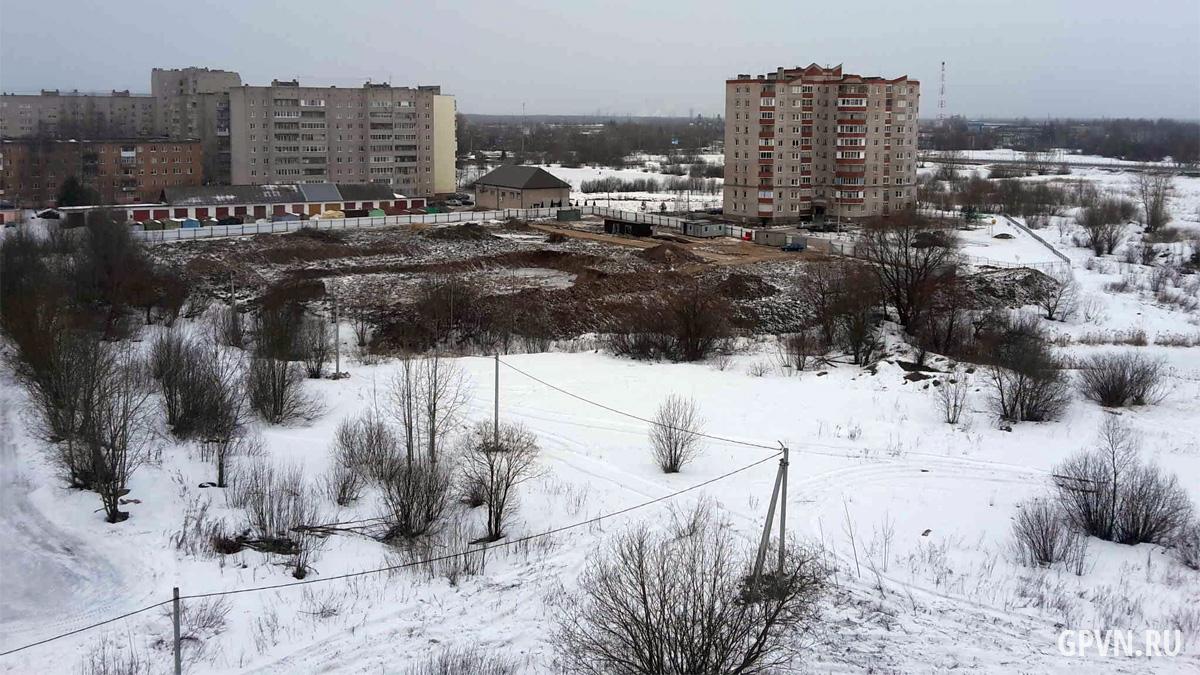 Площадка под детсад на улице Вересова