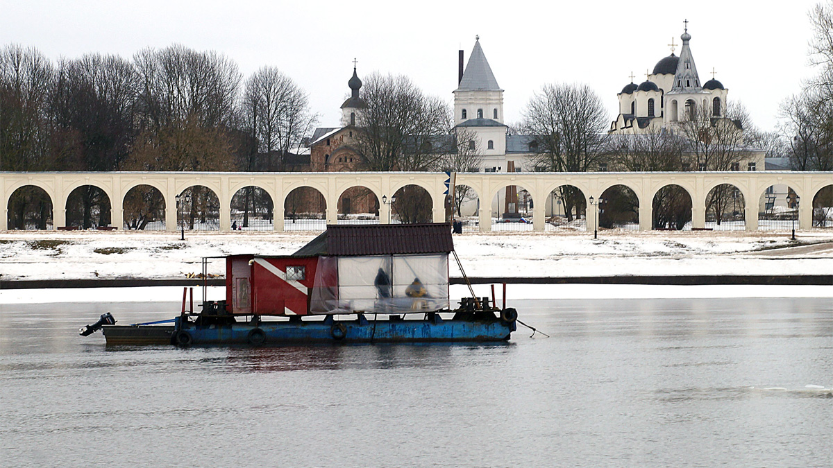 Подводно-археологические исследования на Волхове