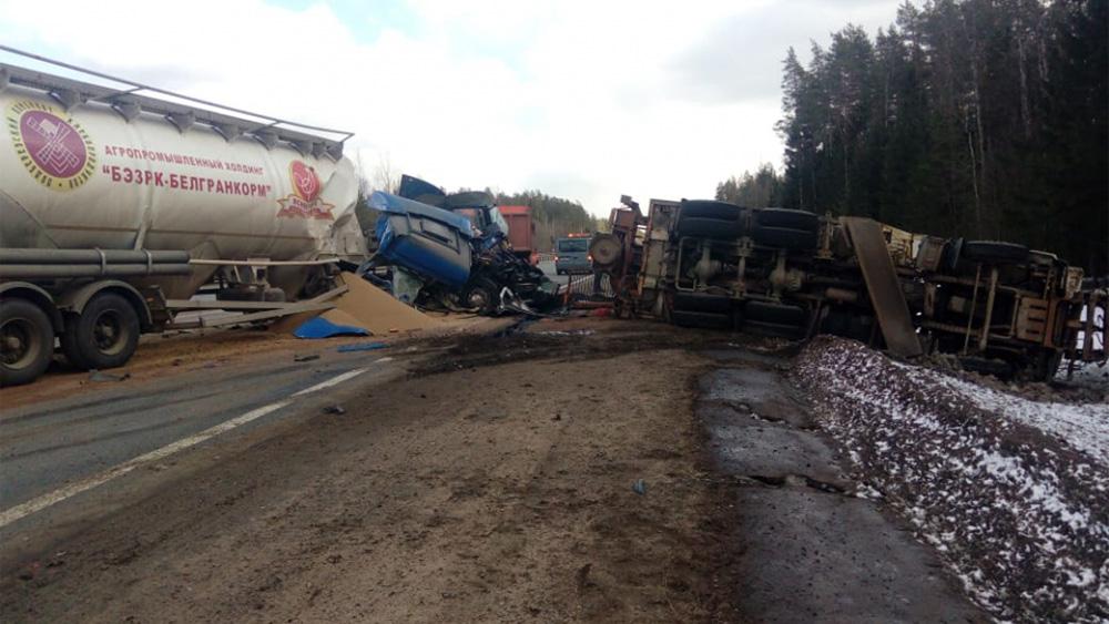 27 марта 2019 года 494 км ДТП авария Новгородская область