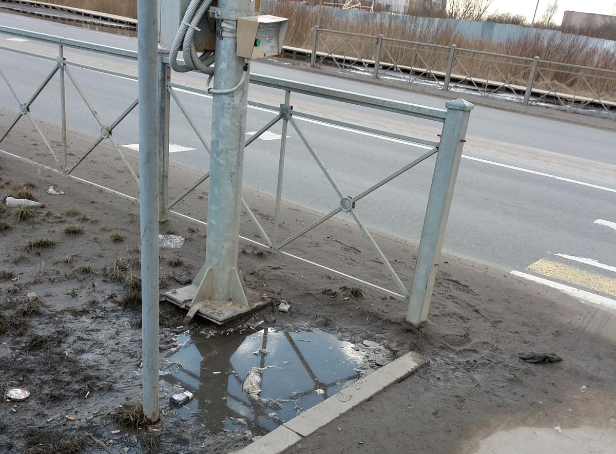 Переход на Псковской улице
