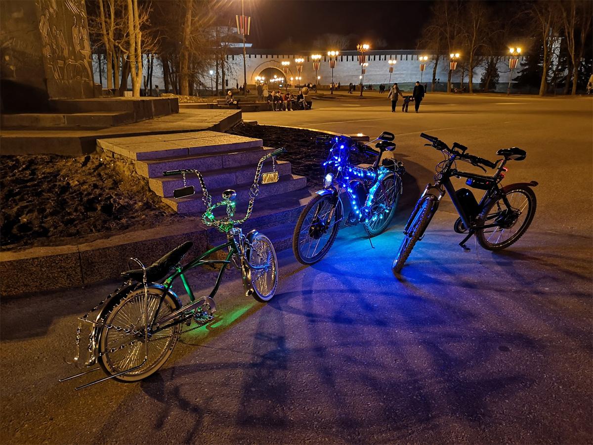 Велосипеды с подсветкой