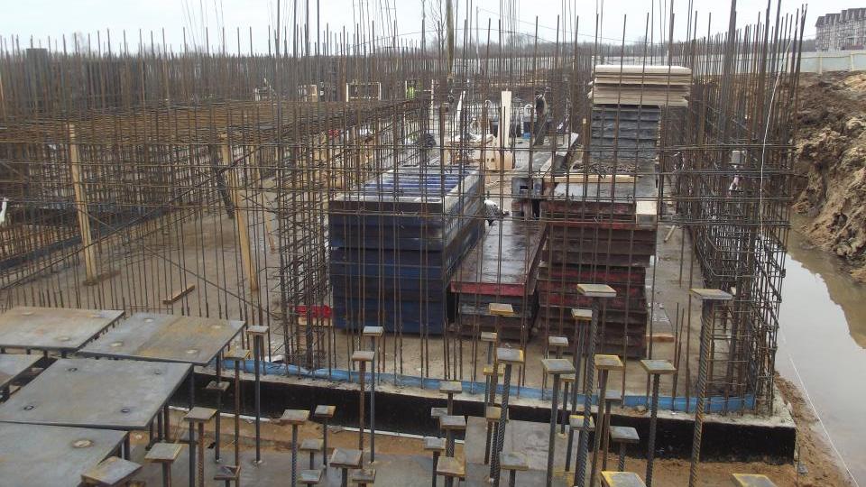 Строительство детского сада