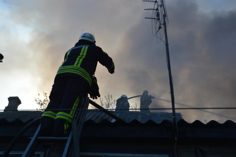 Пожар на дачах