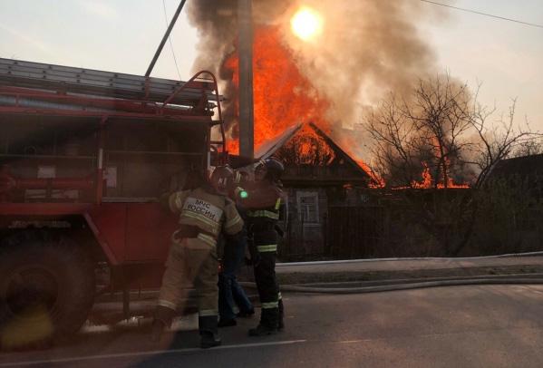 Пожар на Орловской