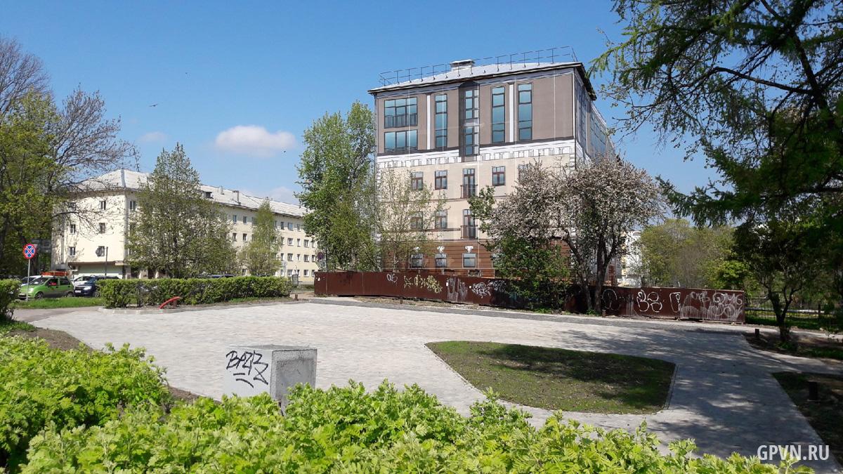 Здание бывшей бани