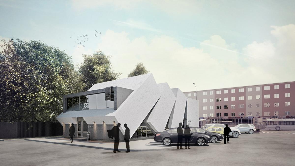 Проект центра бытового обслуживания