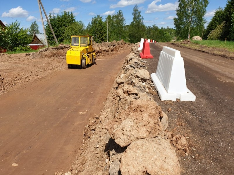 Дорога к музею-усадьбе Суворова