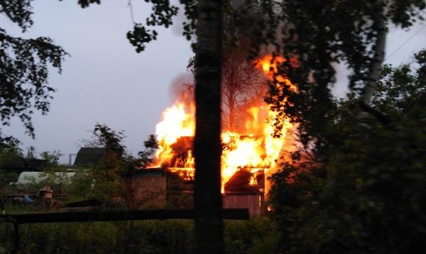 Пожар в Панковке