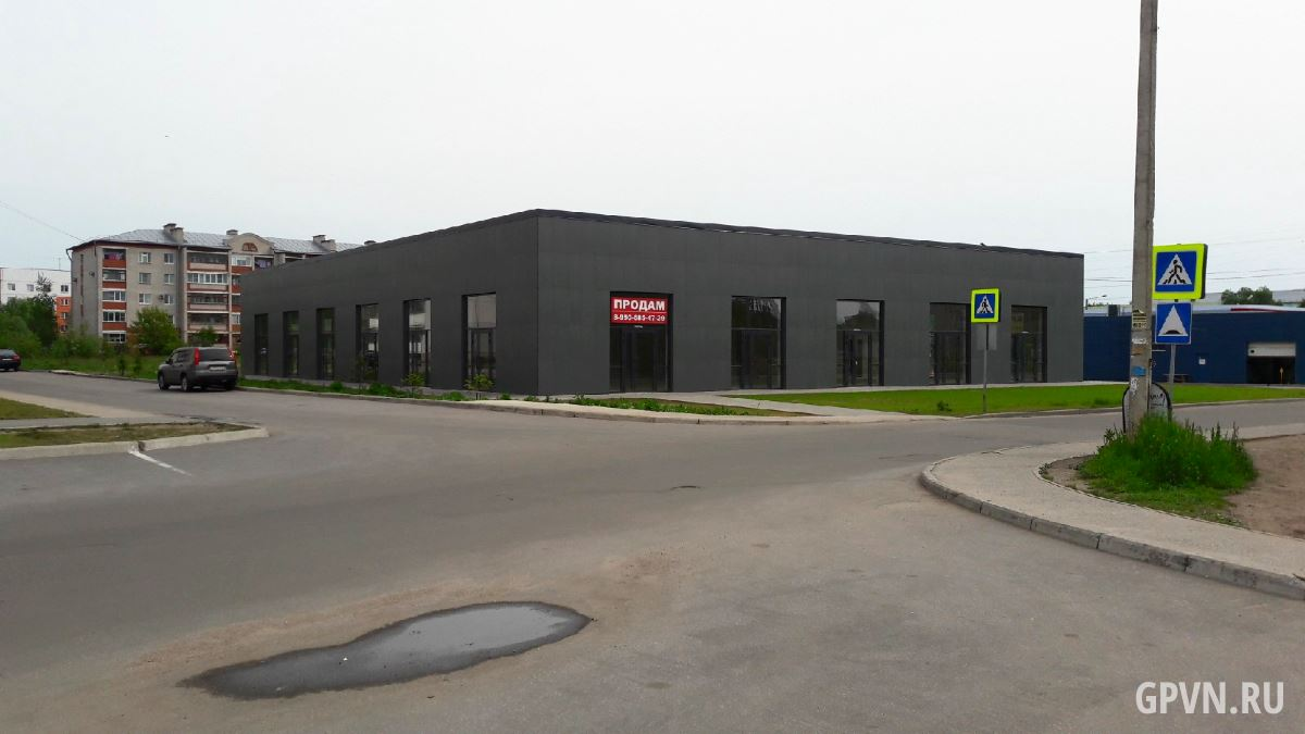 Здание, где планировался спорткомплекс