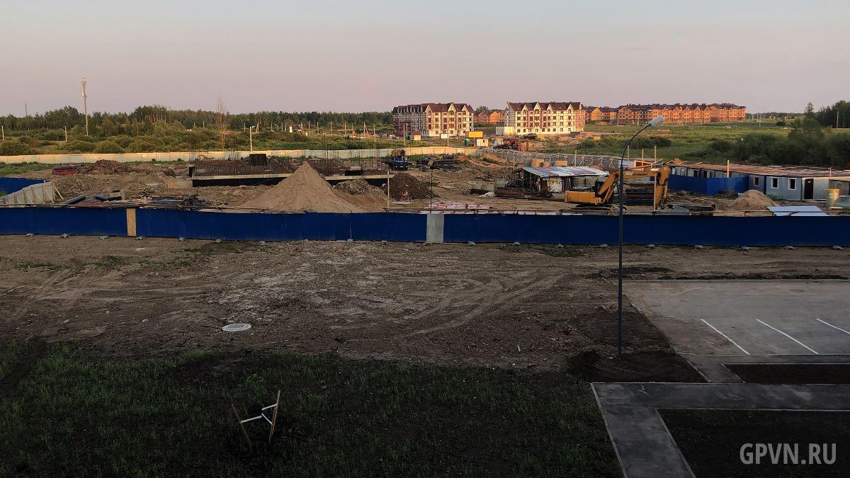 Строительство детского сада на Речной улице