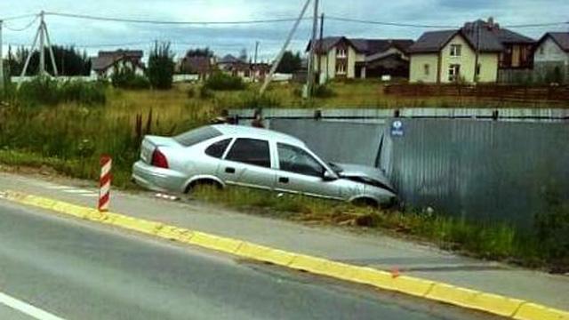 ДТП на дороге в Хутынь