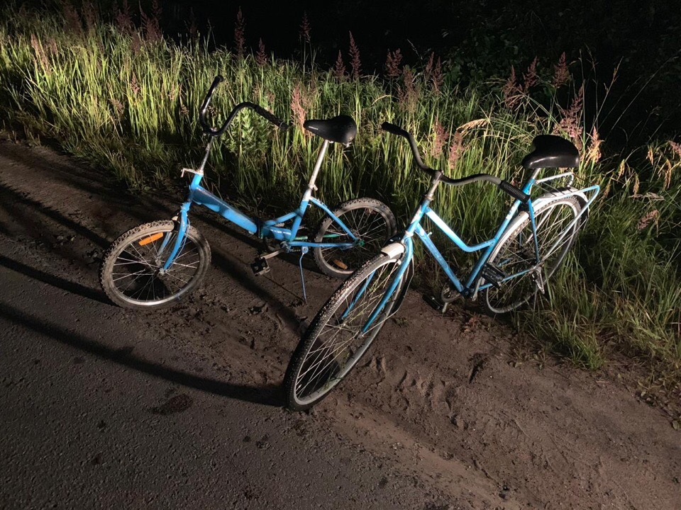 Велосипеды в Окуловке