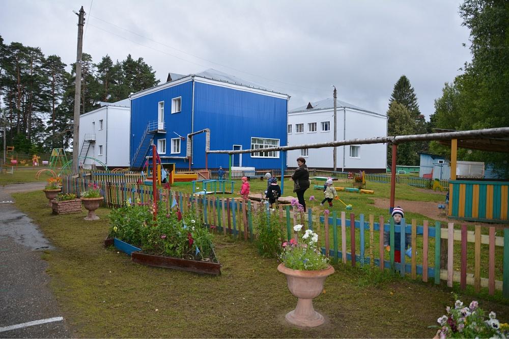 Детский сад в Мошенском районе