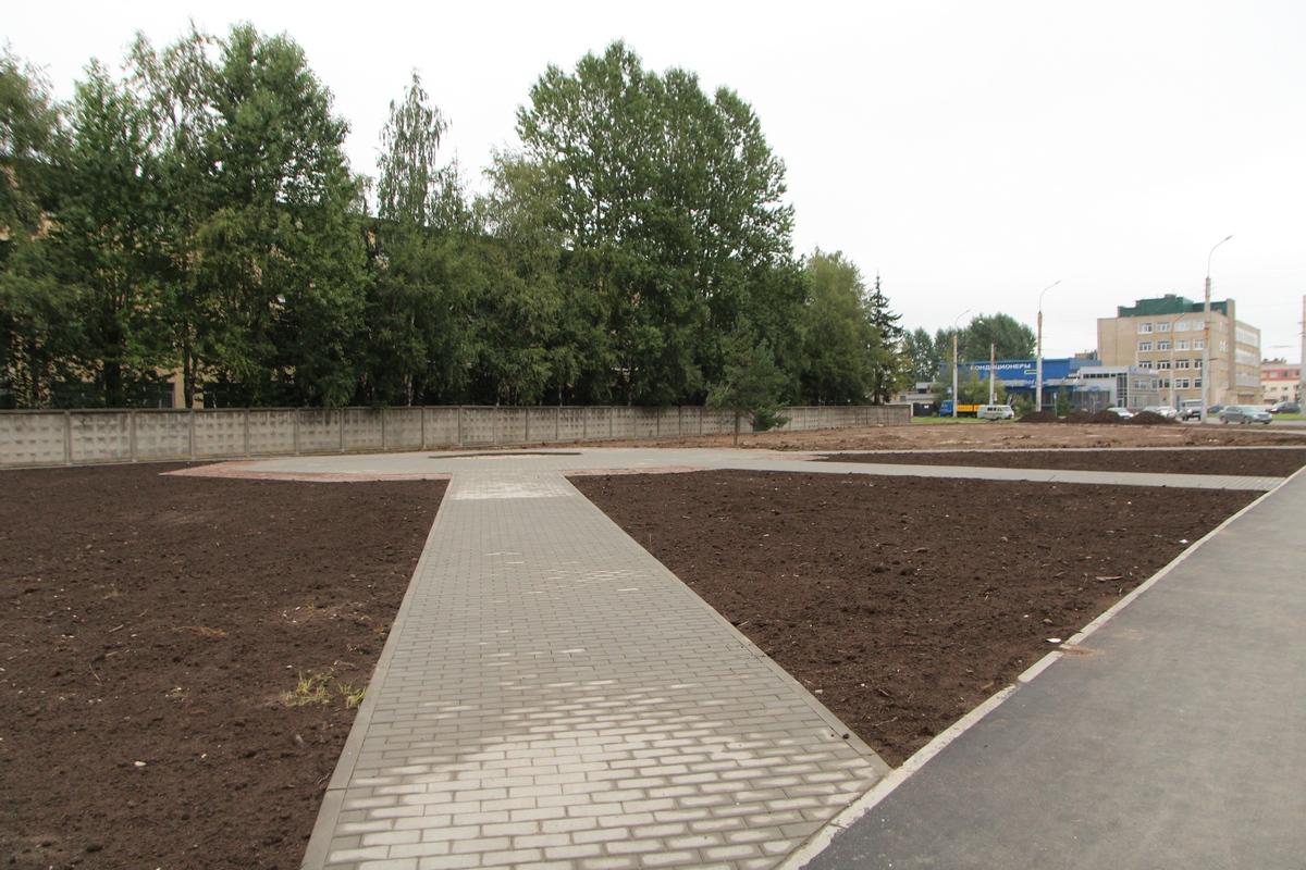 Площадка под памятник